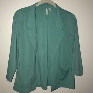Tiffany blue blazer